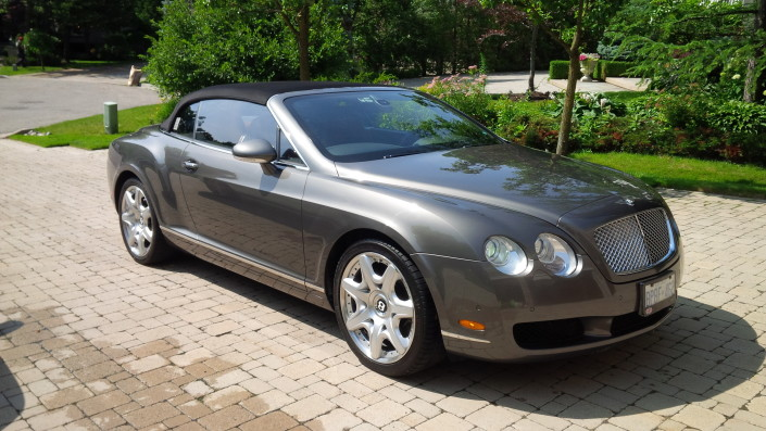 Bentley Continental - Thornhill Car Detailer